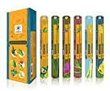 Chakra Aromaterapia fragranza naturale Bastoncini profumati - promuove la salute e ben essere-20 bastoncini di incenso per confezione - di lunga durata 120 profumo bastoni - Confezione da 6
