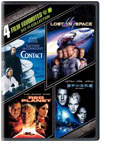 4 Film Favorites: Sci-Fi (Contact, Lost in Space, Red Planet, Sphere) by Jodie Foster (4 Film Favorites Dvd)