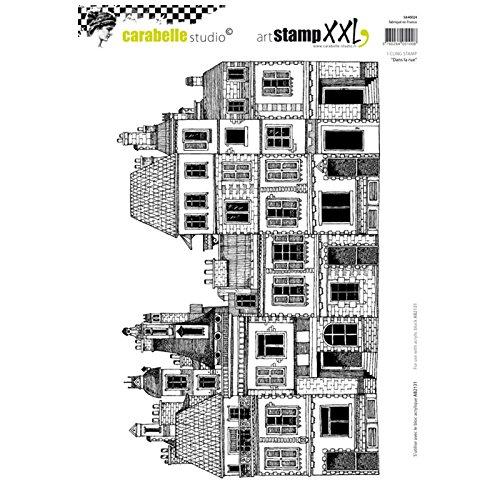 Carabelle Studio Cling Stamp XXL A4-In The Road Ez Montieren
