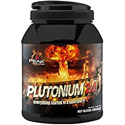 Peak Plutonium 2.0 Hot Red Punch, 1000 g