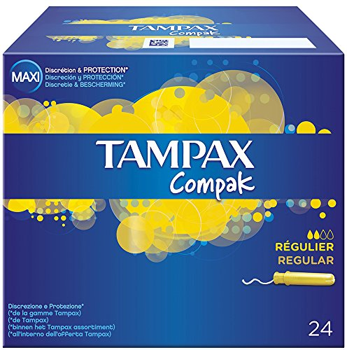 Tampax Compak Regular x24 - tamponi con applicatore