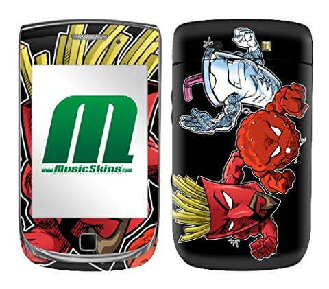 MusicSkins Aqua Teen Hunger Force Heroes Skin pour BlackBerry Torch (9800) (Import Royaume Uni)