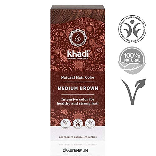 KHADI - TINTE BIO CASTAÑO MEDIO 100GR - KHADI - KHPHF16