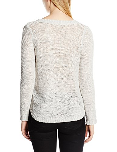 ONLY Damen Pullover Onlgeena Xo L/S Pullover Knt Noos Grau (Light Grey Melange)