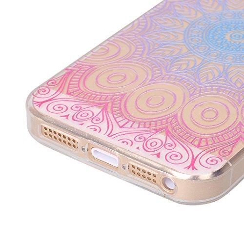 Custodia Protettiva per iPhone 5 5C 5S SE Soft Colore Nero