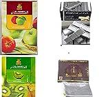Hookah Best Combo AL FAKHER Flavor with AL Akbar FOIL, Patti Coal