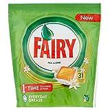 Fairy Todo en 1 Cápsulas de Lavavajillas Naranja - 31 Cápsulas