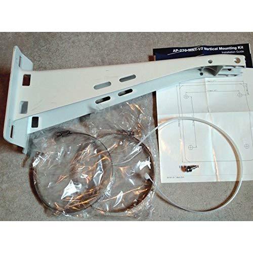 Aruba, a Hewlett Packard Enterprise company HPE AP-270-MNT-V2 AP-270 Series Outdoor Pole/Wall Short Mount Kit -