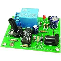 Velleman MK125 Apto para uso en interior 2lámpara(s) Amarillo - Iluminación decorativa (2 lámpara(s), Amarillo, AAA, 100 mm, 6 cm)