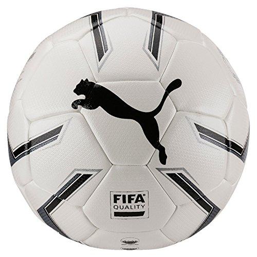 Puma Elite 2.2 Fusion Size 4 (FIFA Quality) Ball Fußball White Black Silver, 4
