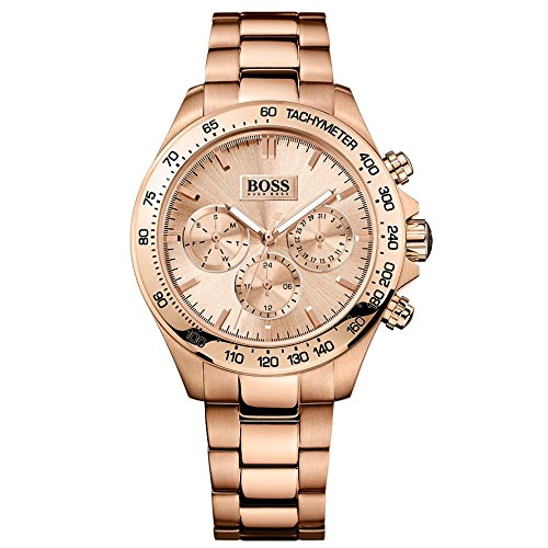 Hugo Boss Women's Quartz Watch Analogue Display and Stainless Steel Strap 1502371