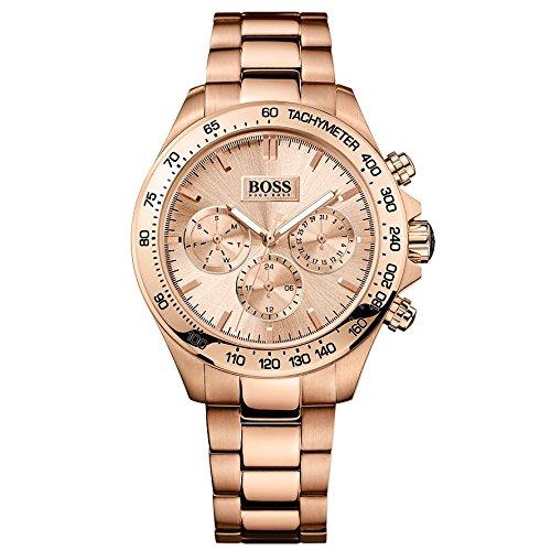 Hugo Boss Damen-Armbanduhr Analog Quarz Edelstahl 1502371