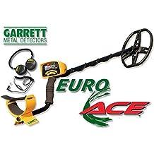 Garrett Euro Ace 350- Detector de metales, color dorado + auriculares