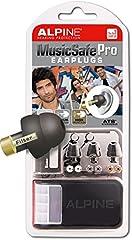 Idea Regalo - Alpine MusicSafe Pro - Auricolari per la Protezione dell'Udito dei Musicisti - Nero