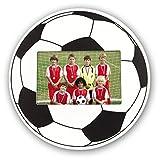 ZEP Football - Portafotos con forma de balón para foto 10x15