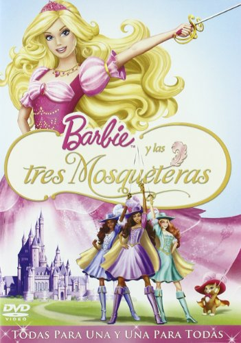 barbie-y-las-3-mosqueteras-import-espagnol