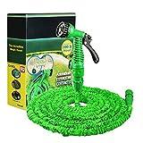 """Colore verde Lunghezza 30,5m frabic & 450d camera d' aria & TPE connettore & 1/""""a 3/adattatore ugello & 7funzione spray confezione e scatola di colore"""