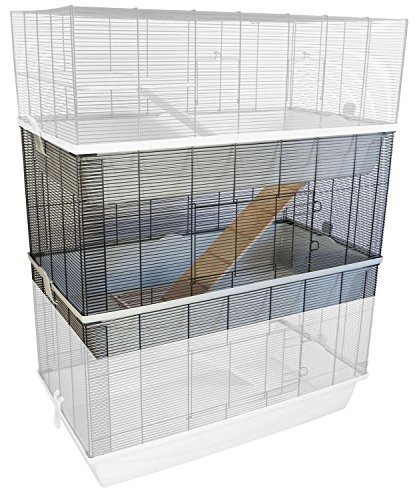 PETGARD Erweiterungsset für Mäuse- und Hamsterkäfig Carlos mit 7 mm Verdrahtung
