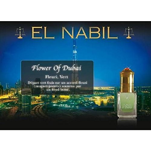 EL NABIL - MUSC FLOWER OF DUBAI 5ml - LOT DE 6