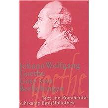 Götz von Berlichingen mit der eisernen Hand: Ein Schauspiel 1773 (Suhrkamp BasisBibliothek)