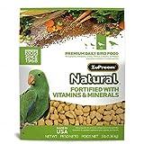 Zupreem Natural Blend Diet for medium/large Birds, 3-Pound by Monster...