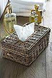 Riviera Maison - Box für Kosmetiktücher - Tissue Box - Rustic Rattan - Länge: 28 cm