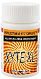 Xyte-XL Male Enhancement -20 Capsules Maximum Performance. Fast Acting and Long Lasting! Buyer Choice Award for Best All Natural Male Enhancement Pills. Voted #1 for Testosterone & Libido Booster.