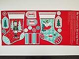 Stuart Hillard The Nussknacker Weihnachtsstrumpf-Stoff,