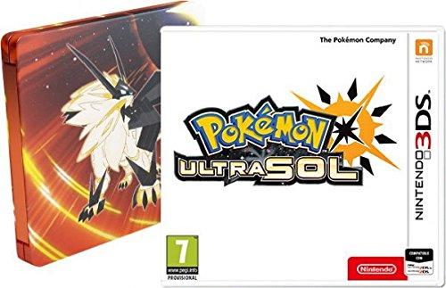 Pokémon Ultrasol - Edición especial con Steelbook