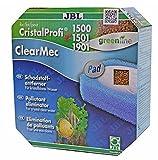 JBL Filterpad Schadstoffentferner ClearMec Pad Cristal Profi e 1500/1501/1901