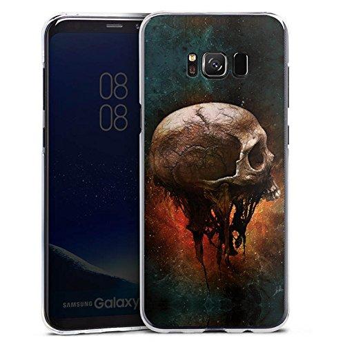 alaxy S8 Plus Hülle Case Handyhülle Skull Halloween Scream (Plus Halloween)