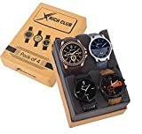 #4: Rich Club Pack Of 4 Multicolour Analog Analog Watch For Men And Boys