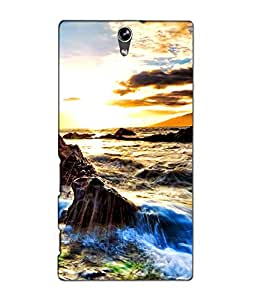 SONY XPERIA C5 PRINTED COVER BY aadia