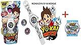 Yo-Kai Watch IL NUOVO OROLOGIO YO KAI L'OROLOGIO NON INDICA L'ORA RICONOSCE 100 + MEDAGLIE MUSICA FRASI SUONI