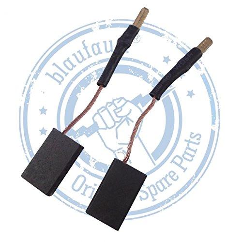 Preisvergleich Produktbild Original Blaufaust® Kohlebürsten für Kress 1000 WS,1400 WSE,1100 WS,1200 WSE,WS 800,800 FDF,1050 FME