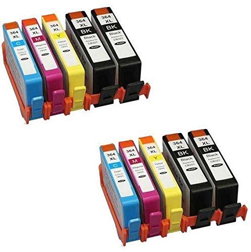 Prestige Cartridge HP 364XL 10 Cartucce d'Inchiostro Compatibile per Stampanti