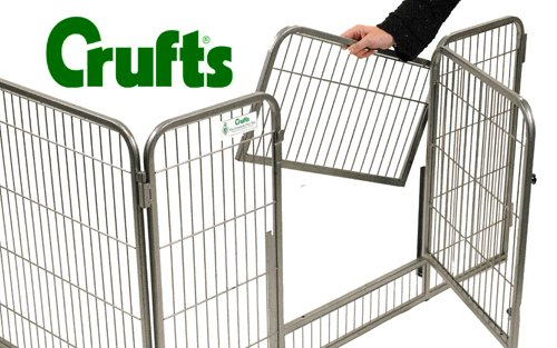 Crufts Safe and Sturdy Freedom Puppy Play Pen - 27 ins high 2