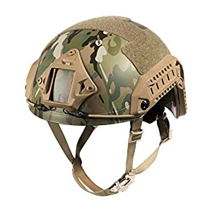 1T F24 Casque Tactique Maritime de Protection pour Airsoft Paintball