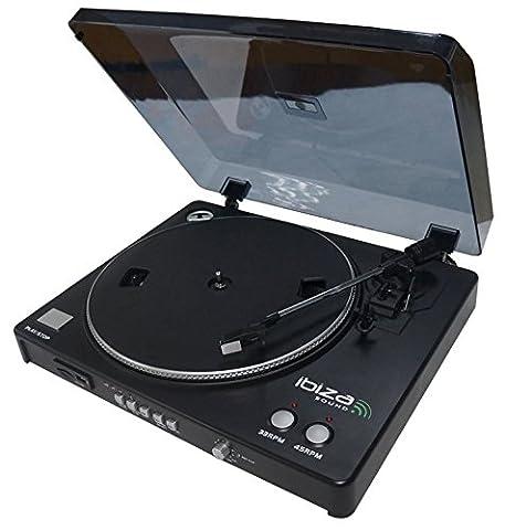 Ibis LP300 Platine-Disques USB Noir