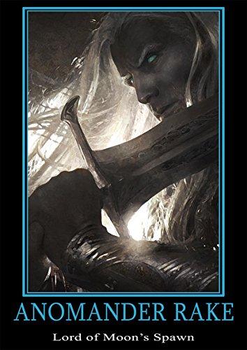Poster Fantasy Heroes 'Anomander Rake' - Formato A3 (42x30 cm)
