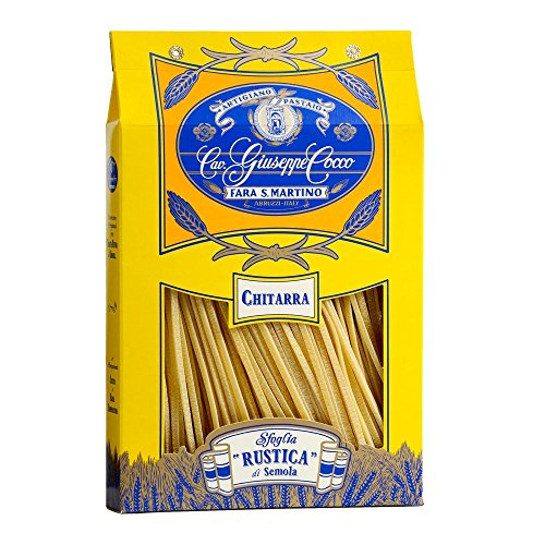Pasta-Cocco-Chitarra-n158-500-Gramos-Cavalier-Giuseppe-Cocco-fabricante-de-la-pasta-artesanal-italiano