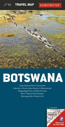 Botswana (Globetrotter Travel Map) por Globetrotter