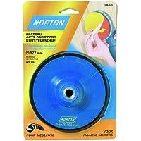 Norton Norgrip - Plato para discos de pulidora (roscado M14, 115 mm)