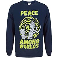 Rick and Morty Peace Among Worlds Mens Sweater