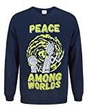 Rick And Morty Peace Among Worlds Men's Sweater (M)