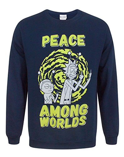 Rick And Morty Peace Among Worlds Men's Sweater (XL)