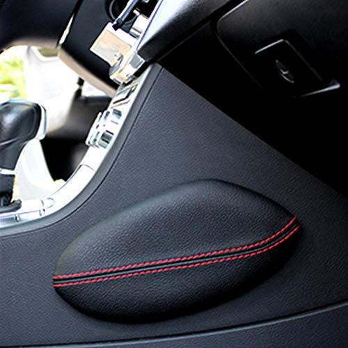 Wisedwell Beinstütz kissen Auto-Knie kissen Universal-Autositzkissen Leder-Bein kissen Kniepolster Oberschenkel stütz kissen
