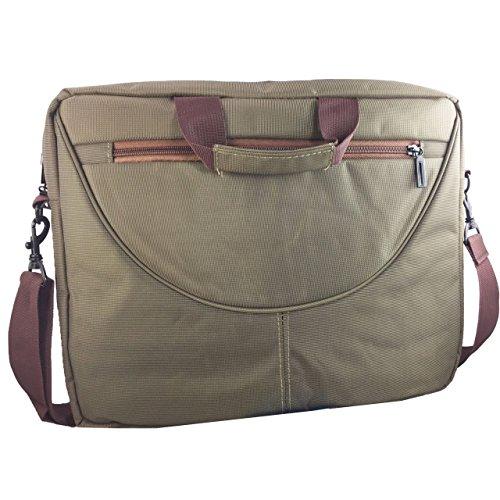 Laptoptasche für HKC NT14W-DE Businesstasche / Aktentasche / Notebooktasche mit Schultergurt - LB Grün