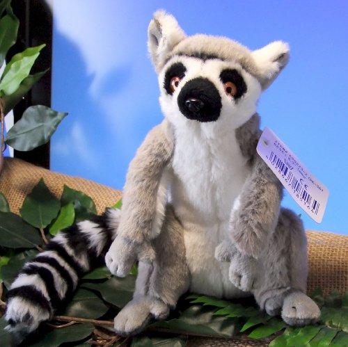 (Plüschtier Lemur Katta sitzend)