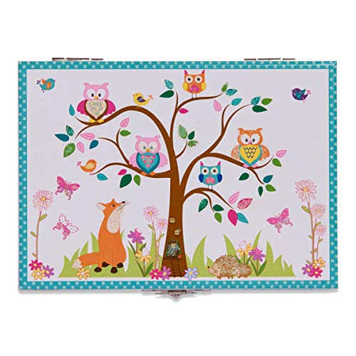 184514ac5756 Joyero infantil musical «Animales del bosque» de Lucy Locket - Bonita caja.